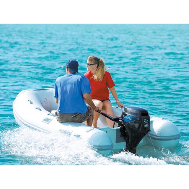 Thuyền cao su gắn máy thủy