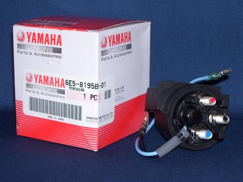 Phụ tùng động cơ máy thủy cano Yamaha: rờ le đề cano