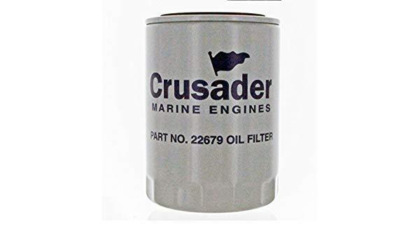 Phụ tùng ca nô, du thuyền: Lọc nhớt máy Crusader 22679