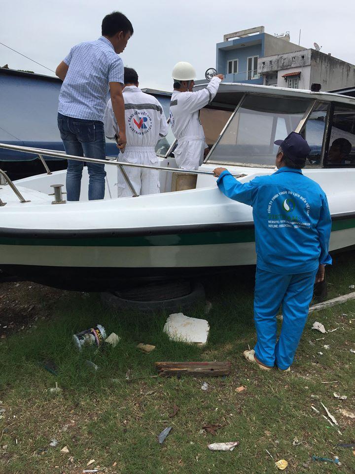 Dịch vụ sửa chữa bảo trì cano tại Tiền Giang
