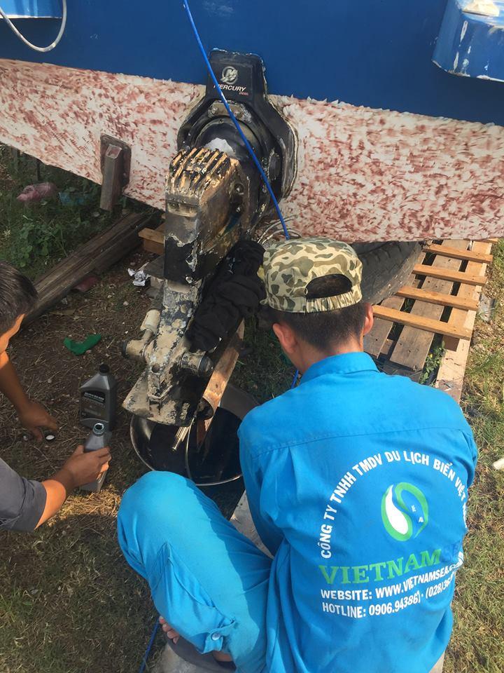Dịch vụ sửa chữa bảo trì cano tại Bến Tre