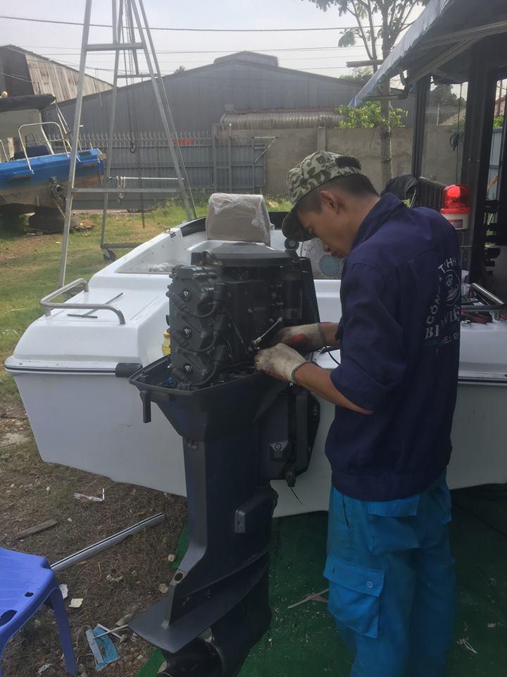 Dịch vụ sửa chữa bảo trì cano tại Hậu Giang
