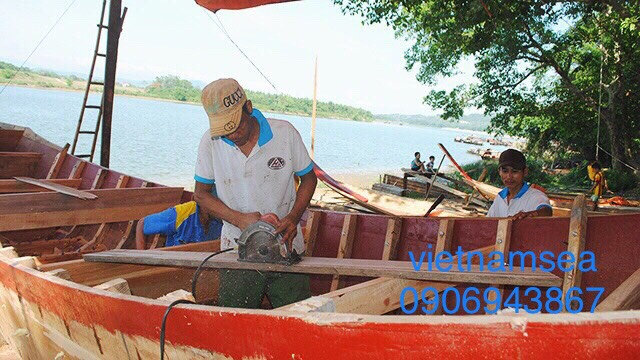 Dịch vụ sửa chữa Tàu Gỗ tại Cần Thơ
