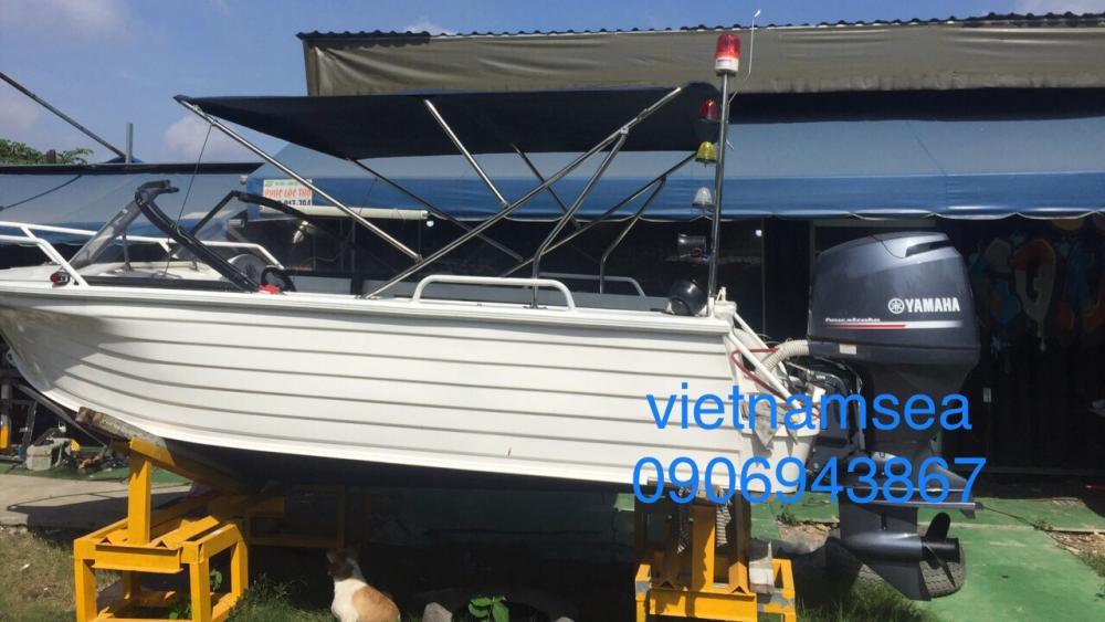Sửa chữa phương tiện đường thủy chuyên dùng phục vụ công tác tuần tra kiểm soát giao thông của Công an tỉnh Đồng Nai
