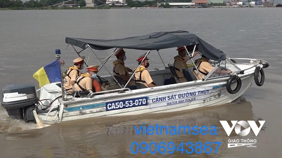 Sửa chữa phương tiện CA50-53-070 cho Phòng Cảnh Sát Đường Thủy Công An TP. HCM