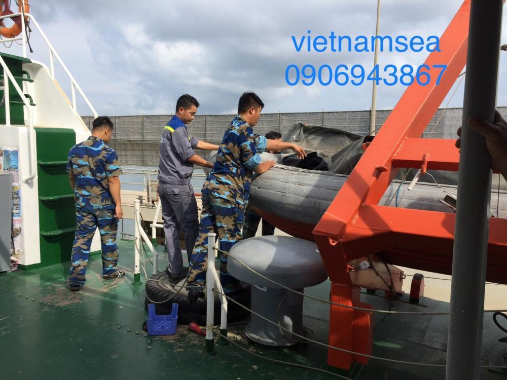 Sửa chữa xuồng tàu CSB 2009 Tổng Công Ty Bason - Công Ty TNHH MTV ở TP. HCM