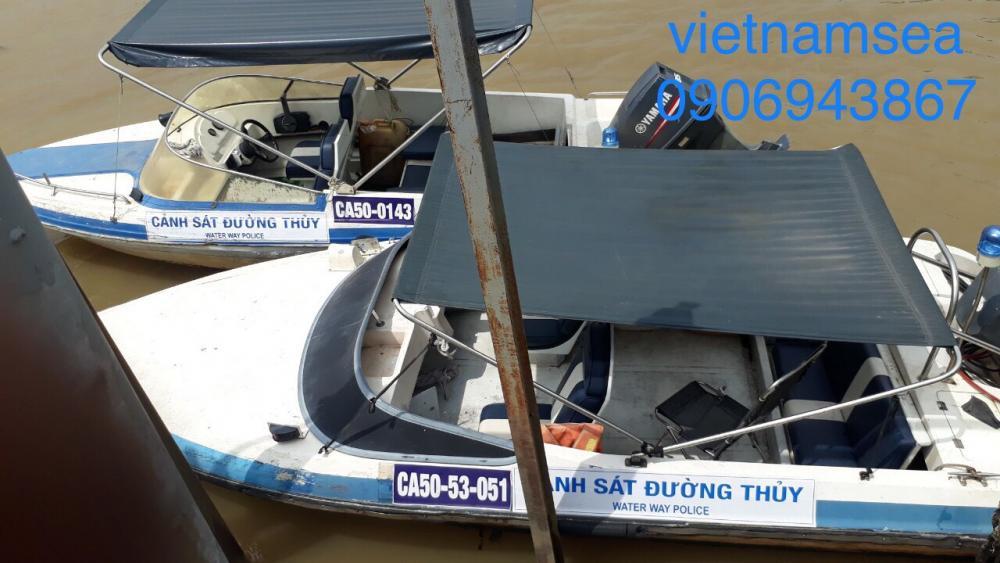 Sửa chữa phương tiện cano, ca nô CA50-53-051 và CA50-0143 cho Trung Tâm Quản Lý Đường Thủy ở TP. Hồ Chí Minh
