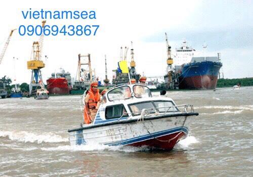 Sửa chữa phương tiện cano, ca nô CA50-0120 cho Phòng Cảnh Sát Đường Thủy Công An Thành Phố Hồ Chí Minh