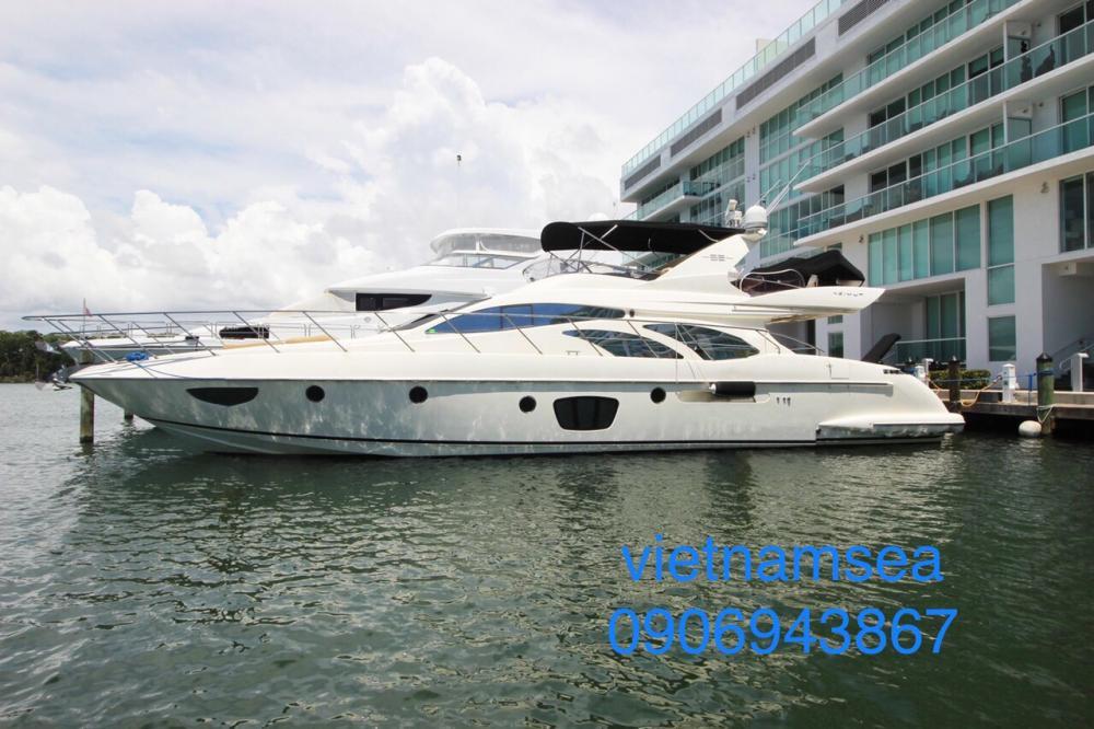 Đăng kiểm du thuyền AZIMUT62' - SG-8017 cho Công Ty TNHH Sài Gòn Gôn