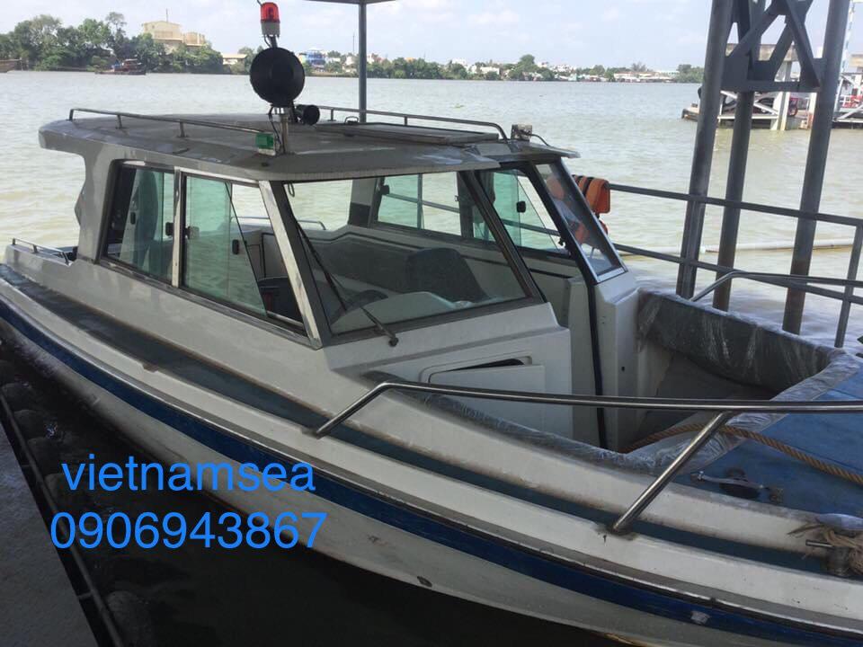 Sửa chữa máy Cano Yamaha 250hp cho Công Ty Cổ Phần ELA Việt Nam ở TP. HCM