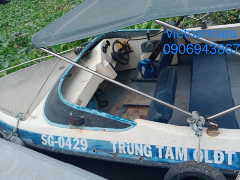 Sửa chữa cano, ca nô 115CV, SG-0429 cho Công An Thành Phố Hồ Chí Minh