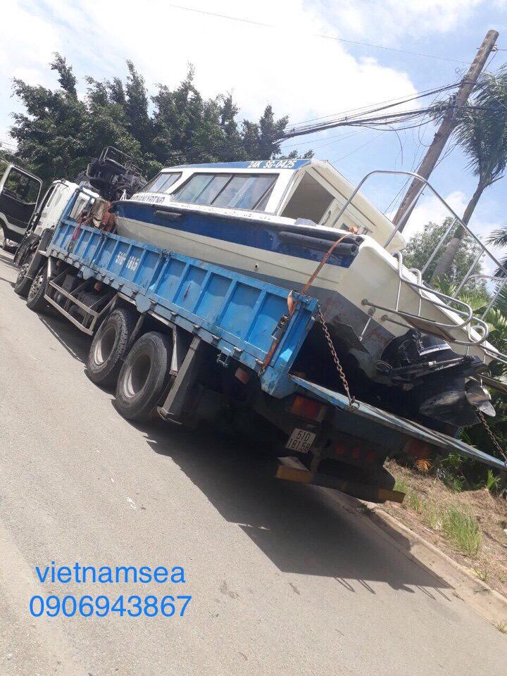 Sửa chữa cano, ca nô 260CV,SG-0425 cho Công An Thành Phố Hồ Chí Minh