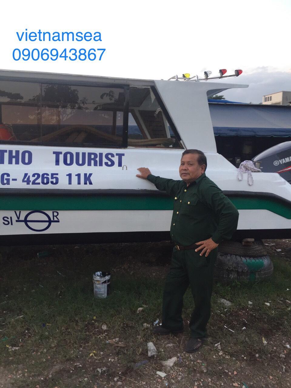 Sửa chữa cano, cano 200HP, SG-4265 cho Công Ty Cổ Phần Du Lịch Phú Thọ ở Thành Phố Hồ Chí Minh