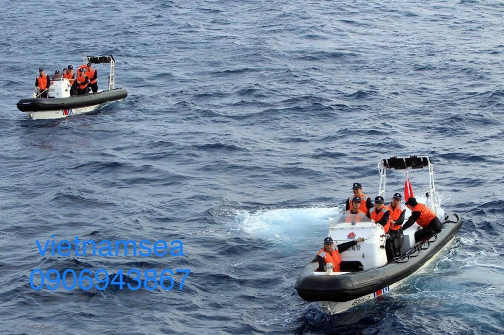 Cung cấp thay mới hai vỏ phao xuồng công tác - Tàu CSB 4031 cho Tổng Công Ty Ba Son - Công Ty TNHH MTV