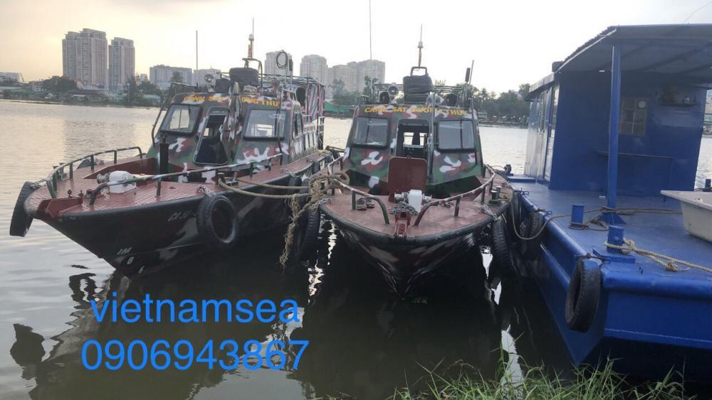 Cung cấp dịch vụ sửa chữa, bảo dưỡng tàu CA50-51-111 và CA50-51-113 cho Công An Thành phố Hồ Chí Minh